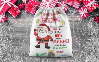 Diseños Para Estampar Bolsas/mochis Navidad