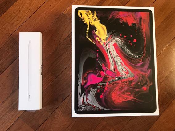 iPad Pro 3ª Ger 12,9 256gb Cinza Esp Wi-fi + Pencil 2ª + Cap