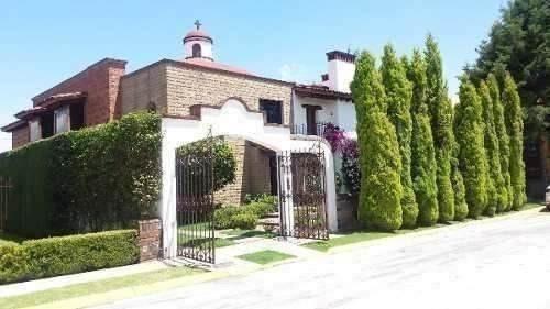 Hermosa Residencia Estilo Mexicano, En La Asuncion Metepec