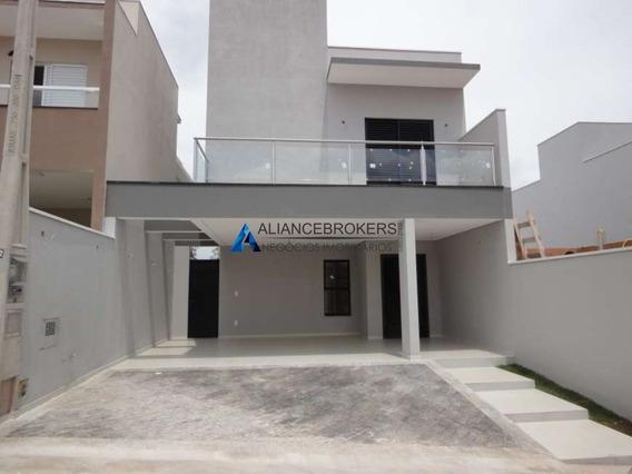 Vende-se Ótima Casa No Reserva Da Mata Com 3 Dormitórios Sendo 1 Suite Com Closet - Ca01747 - 34892330