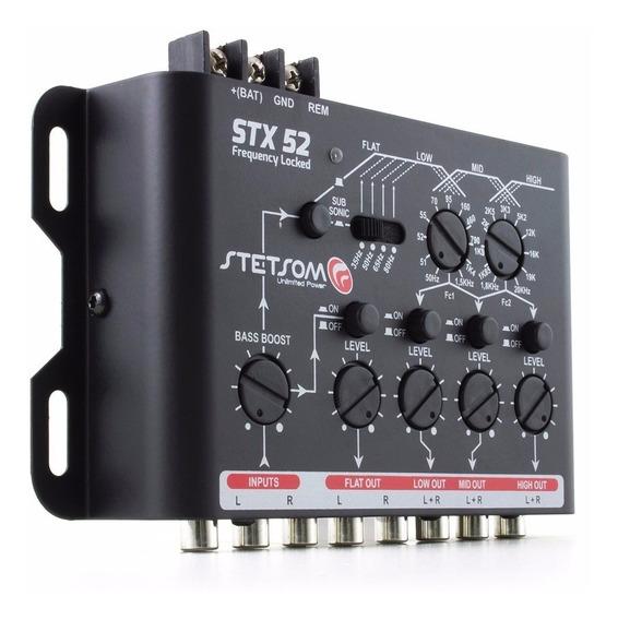 Crossover Eletrônico Stx52 4 Vias Frequency Stetsom Stx
