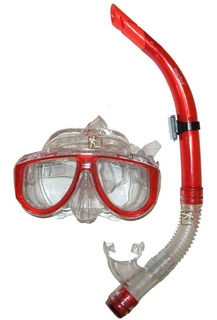 Set Mascara Snorkel Buceo Adulto Estacion Deportes Olivos
