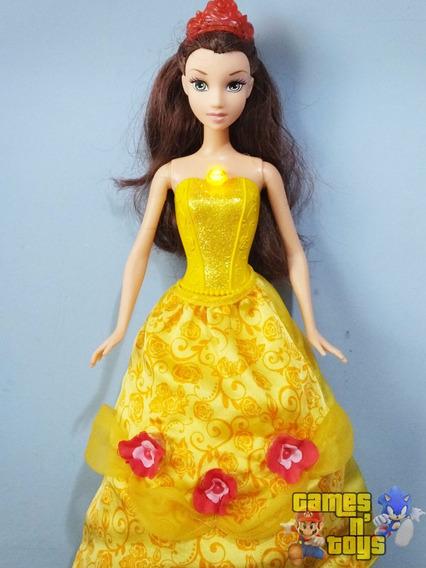 Princesa Disney A Bela E A Fera Bela Rosas Mágicas Mattel