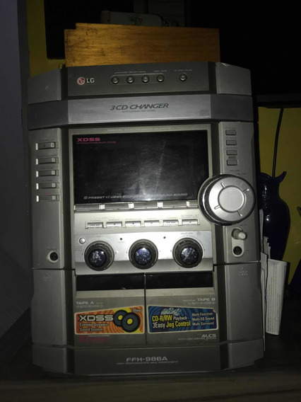 Som Cd Player E Tape Deck Ffh-986a