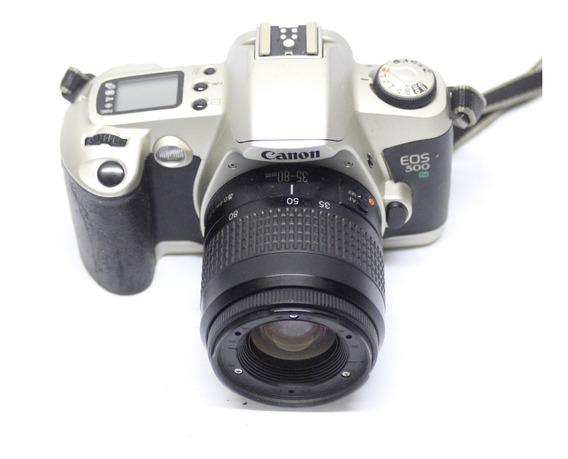 Câmera Fotografica Canon Eos 500 Profissional 20022