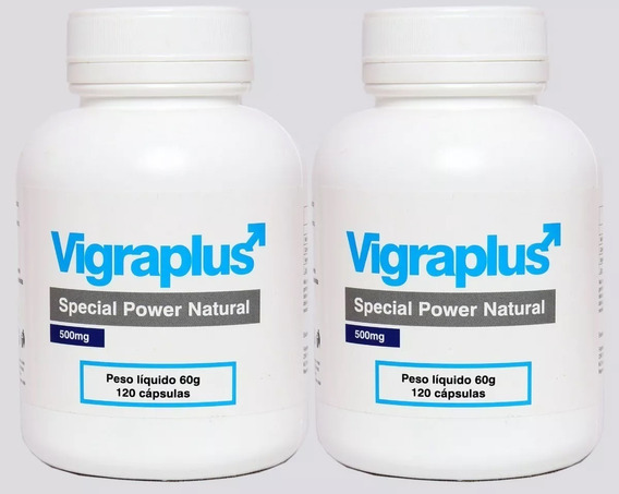 Vigraplus Aumenta E Engrossa Pênis Volume Semen 240 Capsulas