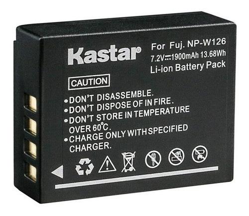 Imagen 1 de 3 de Bateria Kastar Np-w126