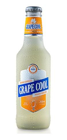 Chopp De Vinho Grapecool Longneck Pêssego 12x269ml - Góes