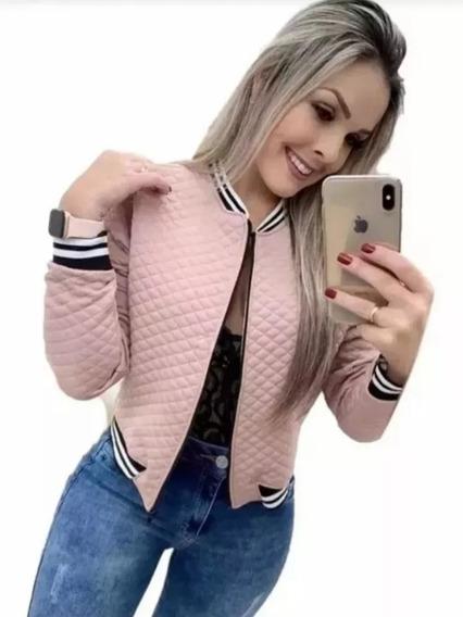 Jaqueta Bomber Blogueirinha Metalassê Blazer Casaco Inverno