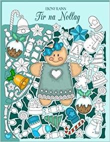 Livro De Colorir Importado Tir Na Nolag (ebony Rainn)