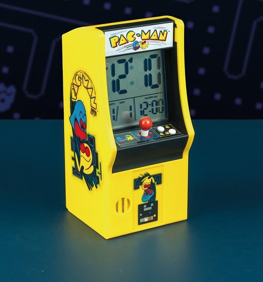Pacman Arcade Alarma
