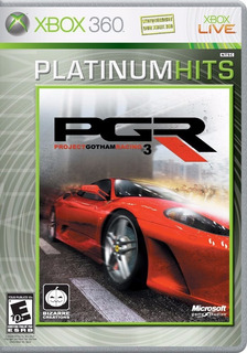 Project Gotham Racing Pgr 3 Xbox 360