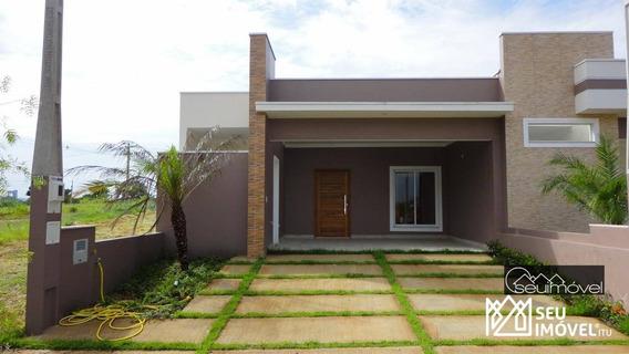 Casa Com 3 Dormitórios Para Alugar, 106 M² Por R$ 2.100,00 - Condomínio Village Moutonnée - Salto/sp - Ca1378