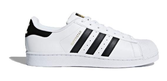 Tenis adidas Superstar C77124 Hombre Concha Originals