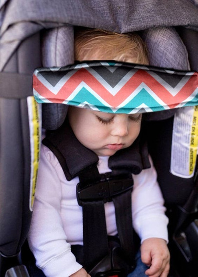 Almohadón / Vincha Sujeción Cabeza Bebés Silla / Butaca Auto
