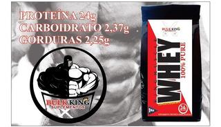Whey Protein Concentrado 80% 1kg Pure Natural24g Sabores21,6
