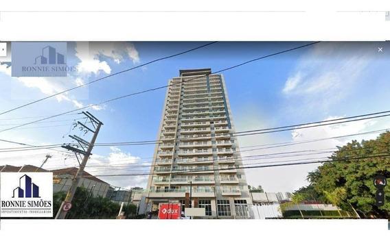 Sala Comercial Para Locação Na Mooca, 1 Banheiro, 1 Copa, 1 Vaga, 42 M², São Paulo. - Sa0404
