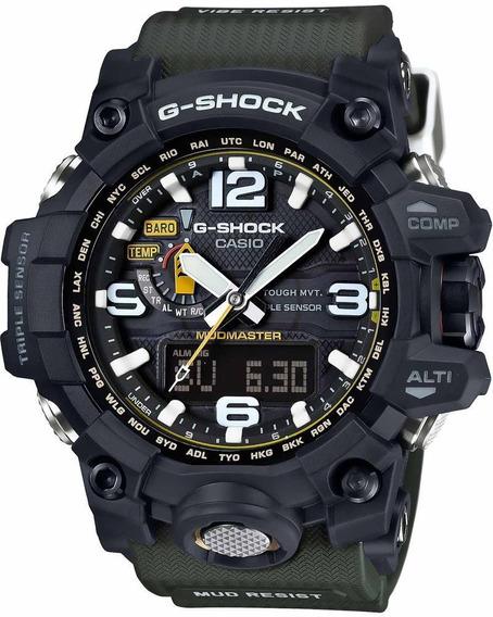 Reloj Casio G-shock Para Caballero-gwg-1000-1a3cr