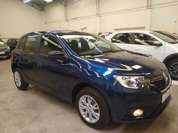 Renault Sandero Zen Patentado 2020 S/rodar Paga Y Retira (e)