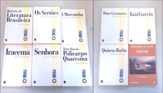 Clássicos Da Literatura Brasileira: Lote 10 Livros Novos.