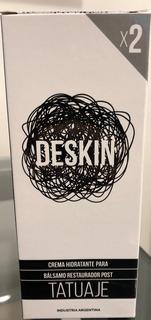 Crema Profesional Tatuajes - Crema Para Tatuajes Deskin X2