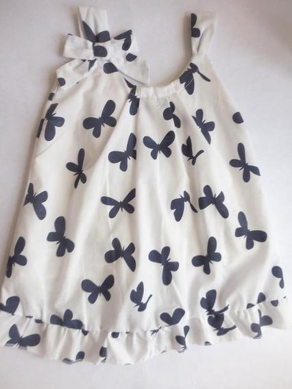 Vestido Casual Para Niñas Nuevo, Talla 5