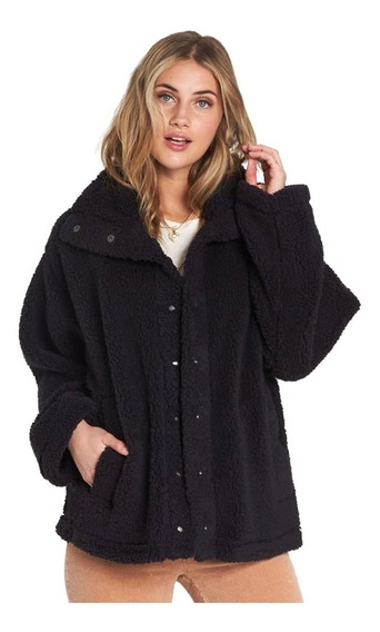Campera Billabong Cozy Days Mujer Black J604sbco