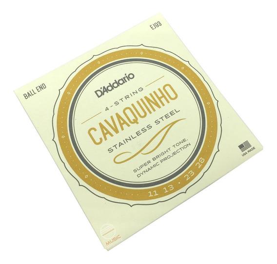 Encordoamento Cavaco Daddario Ej93 Corda Completo Original
