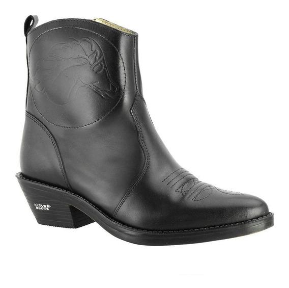 Bota Texana Masculina Hb Agabê Boots Country Couro 100.000