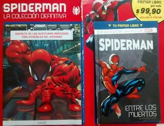 Spiderman Colección Definitiva #1 Libro Tapas Duras + Póster