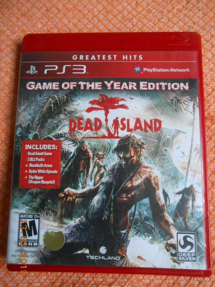 Dead Island - Game Of The Year Edition ( Game Original Ps3 )