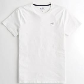 Kit C/ 5 Camisetas Básicas Da Hollister - Camisas Importadas