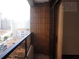 Apartamento Com 3 Dormitórios À Venda, 101 M² Por R$ 550.000,00 - Embaré - Santos/sp - Ap2367