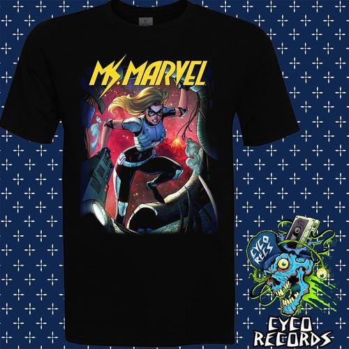 Imagen 1 de 3 de Ms Marvel Comic - Comics - Polera- Cyco Records