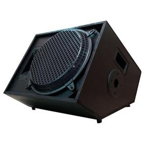 Caixa Acústica Som Retorno Palco 200 Wrms Passiva Music Way