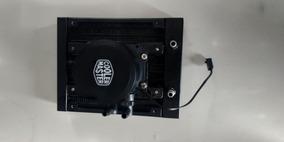 Water Cooler Radiador + Bomba Cooler Master 120 Mm C/ Suport