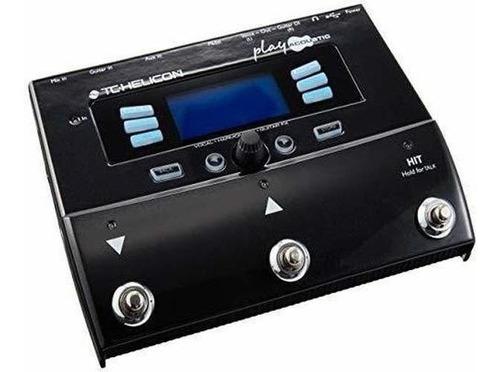 Imagen 1 de 6 de Tc Helicon Play Acustica Procesador De Efectos Vocales