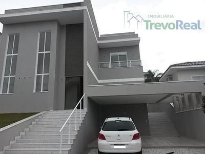 Casa Residencial À Venda, Condomínio Residencial Morada Das Nascentes, Valinhos. - Ca1364