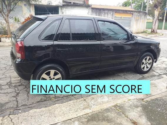 Vw Gol 2009 Financiamento Com Score Baixo