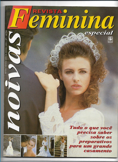 Noivas Revista Feminina Ed 1 Casamento