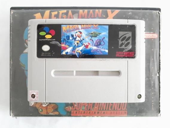 Mega Man X - Super Nintendo Original Reprô - Pt Br