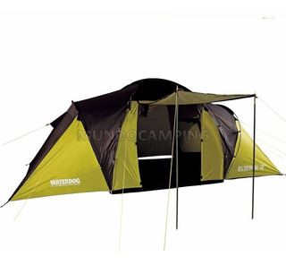 Carpa Estructural Waterdog Discovery 2 Hab. Familiar Camping
