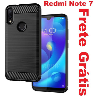 Capa Case Anti Impacto Carbon Xiaomi Redmi Note 7 / 7 Pro