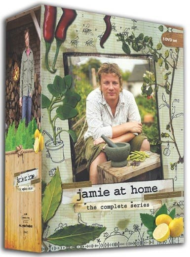 Box Jamie Oliver - Jamie At Home (5 Dvds) - Culinária