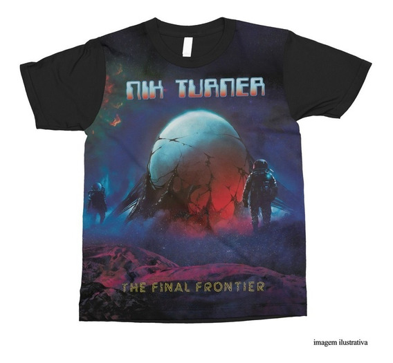 Camiseta Nik Turner ( Hawkwind) - The Final Frontier