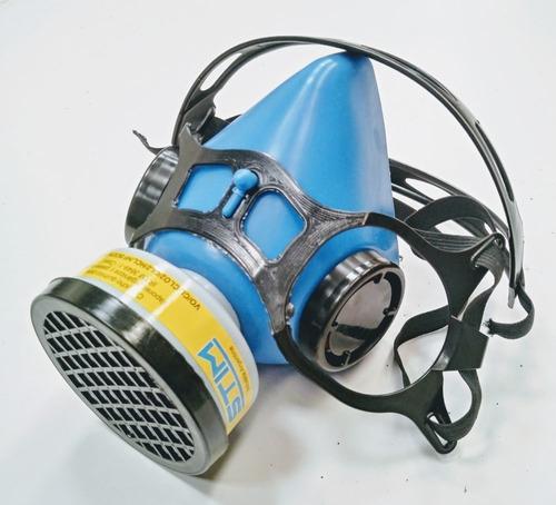 Imagen 1 de 4 de Semi Máscara Stim S1200 Mono Filtro (filtro Gases Y Vapores)