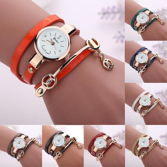 Kit 7 Relógio Feminino Bracelete Vintage Preço De Revenda