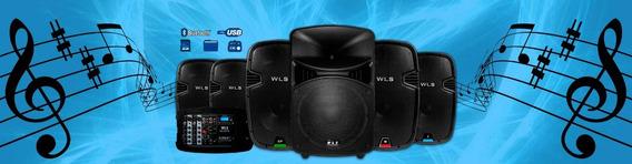 Caixa Wls J12 Ativa 12 Js12 Usb Sd Pro Js12 Bluetooth