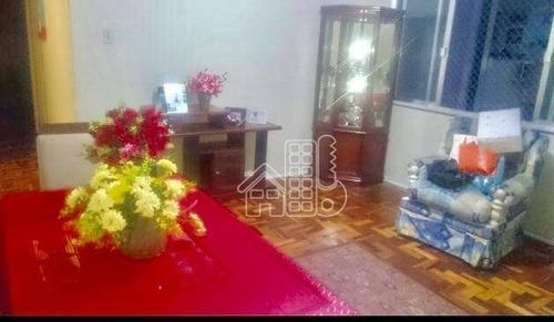 Apartamento Residencial À Venda, Icaraí, Niterói. - Ap1556