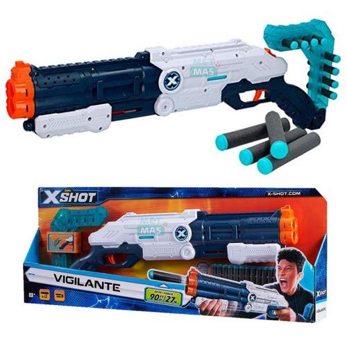 Pistola Escopeta De Juguete X Shot Vigilante Para Niños !